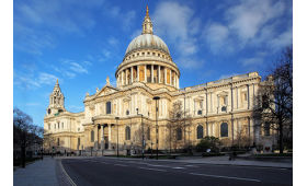 Afternoon Tea for Two at St Pauls Cathedral