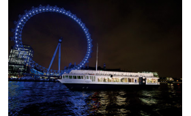 Bateaux London Classic Thames Dinner Cruise for Two