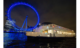 Bateaux London Classic Dinner Cruise and London Eye for Two