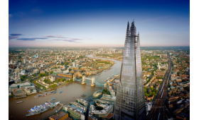 The View from The Shard and Thames Lunch Cruise for Two