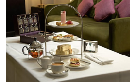 Cocktail Afternoon Tea at the London Hilton Green Park with Unlimited River Cruising for Two